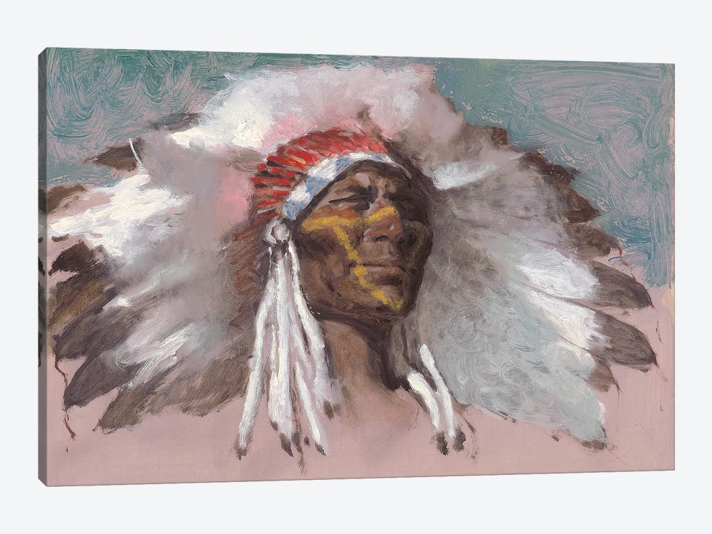 The Chief by Ernest Chiriacka 1-piece Canvas Wall Art