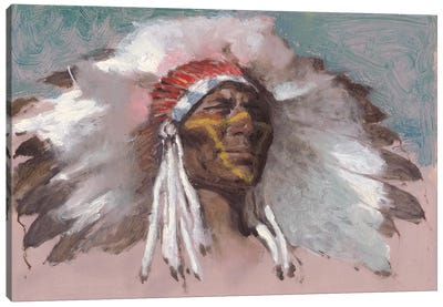The Chief Canvas Art Print