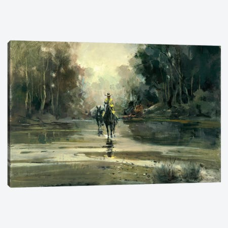 Creek Canvas Print #CKA6} by Ernest Chiriacka Canvas Wall Art