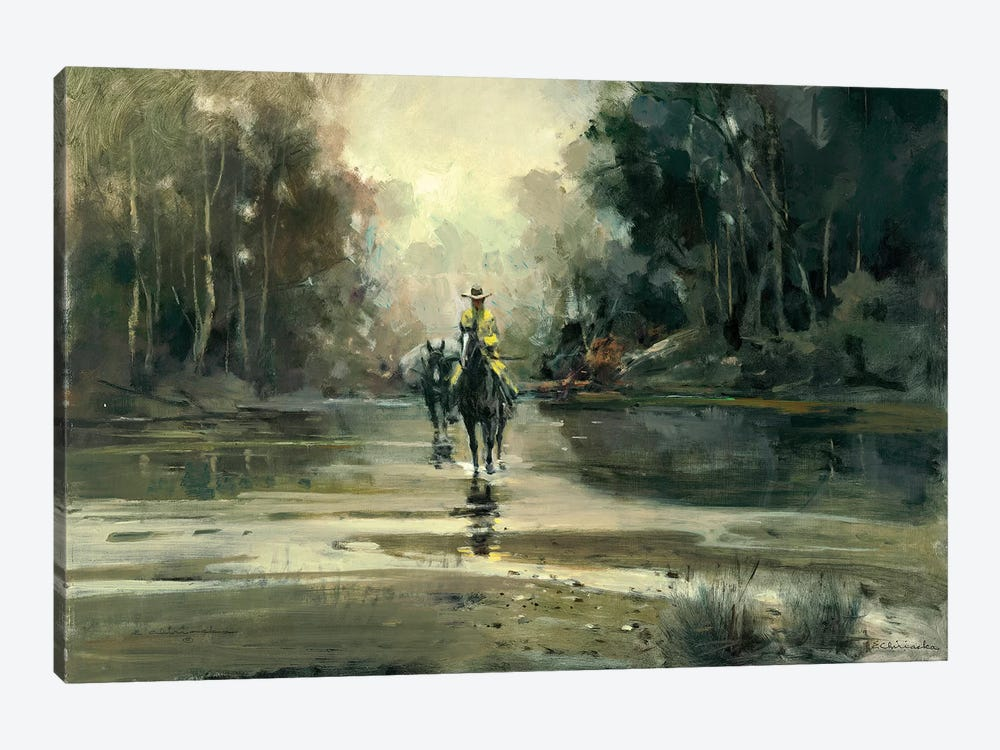Creek 1-piece Canvas Print