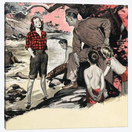 Detective I Canvas Print #CKA8} by Ernest Chiriacka Canvas Art Print