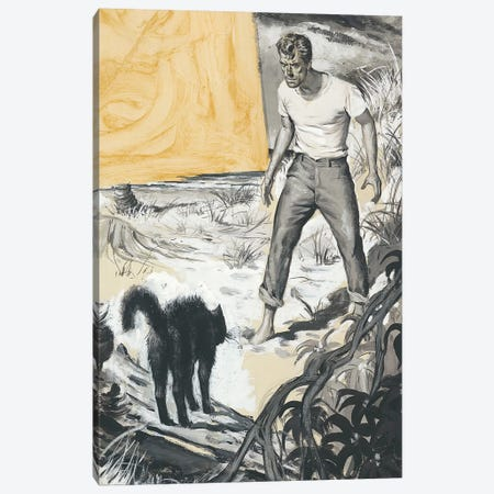 Detective II Canvas Print #CKA9} by Ernest Chiriacka Canvas Print