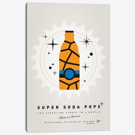 Super Soda Pops III Canvas Print #CKG1023} by Chungkong Canvas Artwork