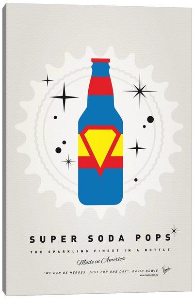 Super Soda Pops V Canvas Art Print