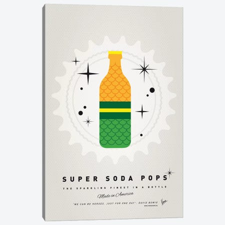 Super Soda Pops XIX Canvas Print #CKG1029} by Chungkong Canvas Art