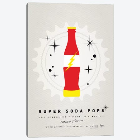 Super Soda Pops XVIII Canvas Print #CKG1030} by Chungkong Canvas Print