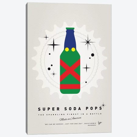 Super Soda Pops XXI Canvas Print #CKG1032} by Chungkong Canvas Print