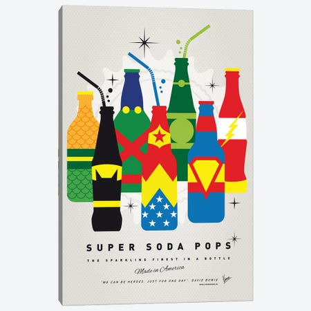 Super Soda Pops XXVI Canvas Print #CKG1033} by Chungkong Canvas Print