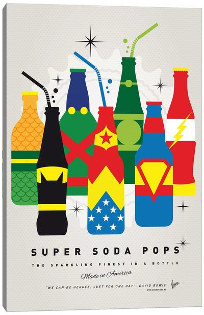 Super Soda Pops XXVI Canvas Art Print