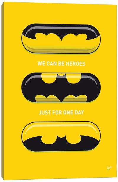 Superhero Pills Batman Canvas Art Print