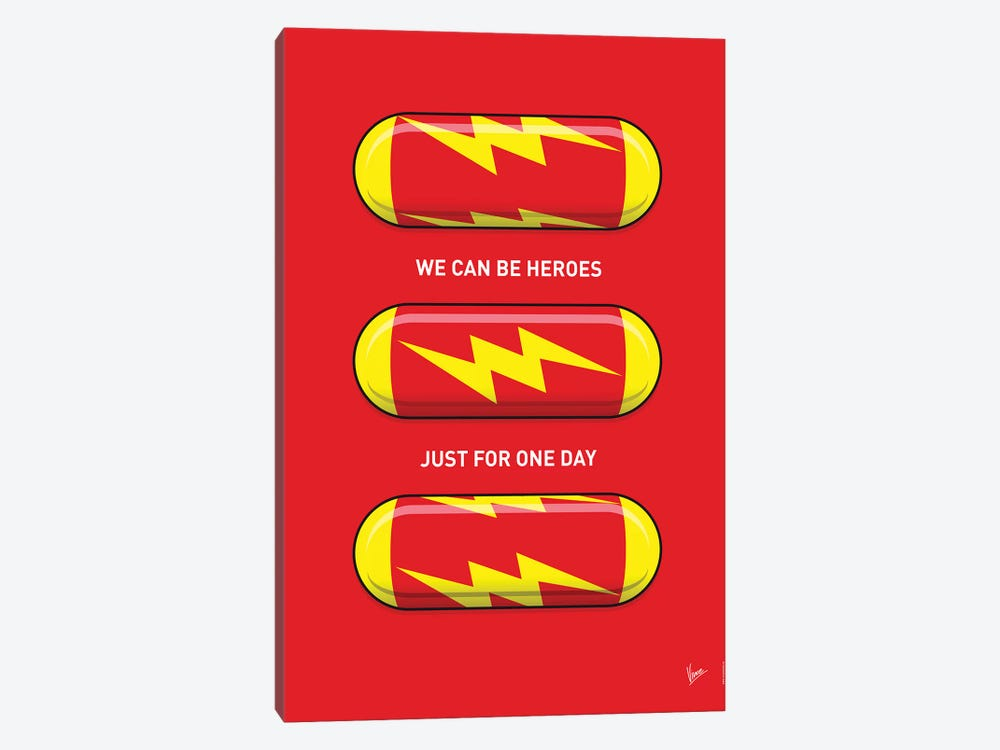 Superhero Pills The Flash by Chungkong 1-piece Art Print