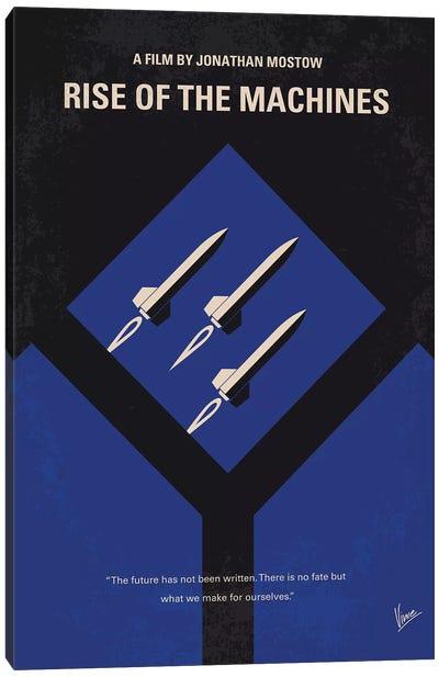 Terminator 3 Minimal Movie Poster Canvas Art Print