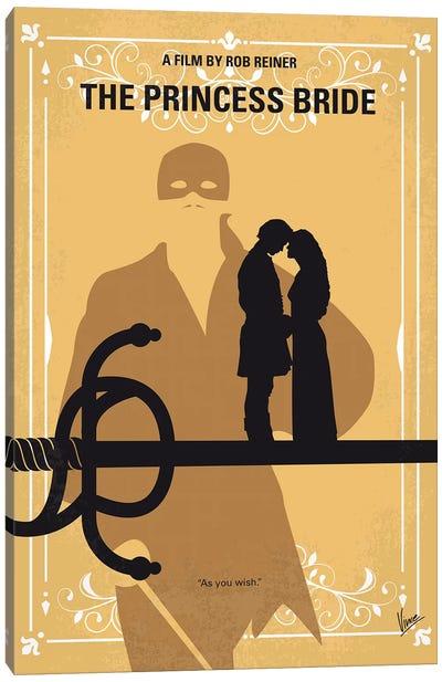 The Princess Bride Minimal Movie Poster Canvas Art Print