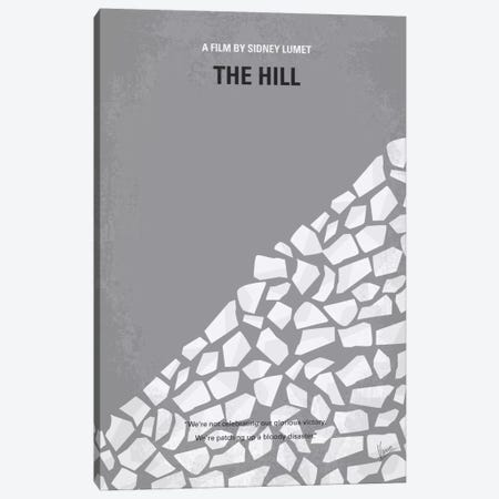 The Hill Minimal Movie Poster Canvas Print #CKG106} by Chungkong Canvas Art Print