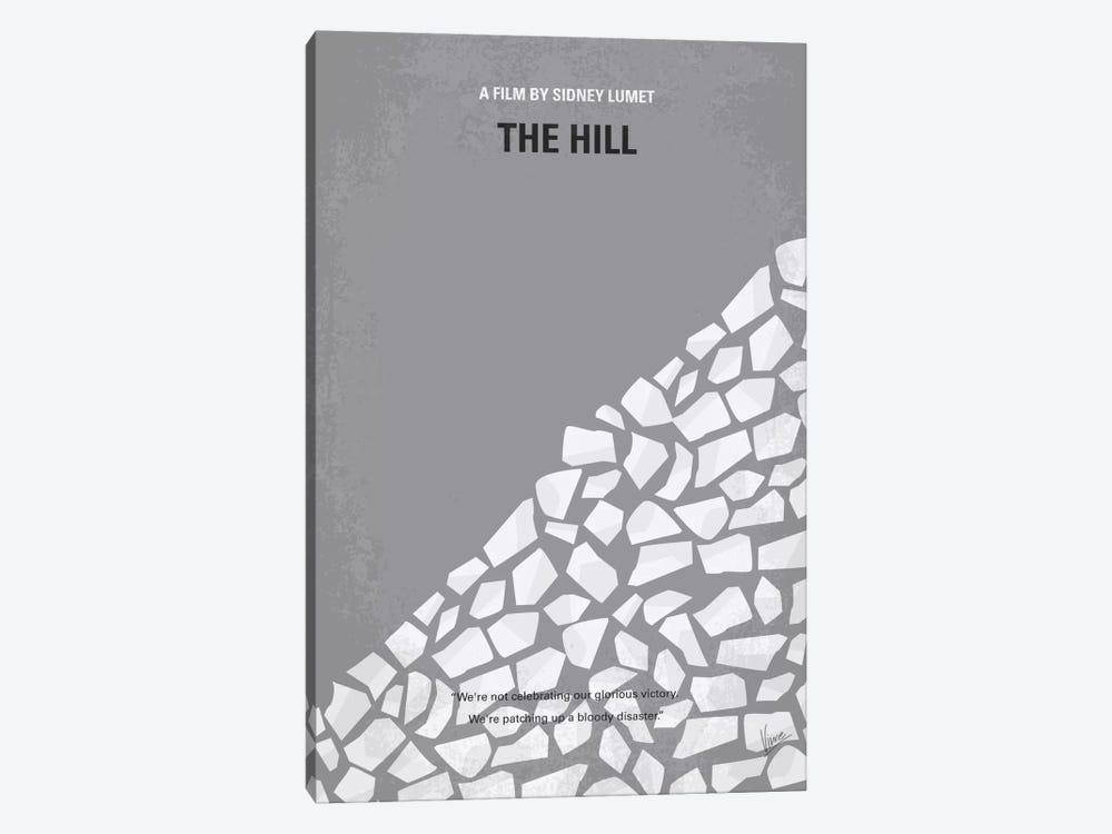 The Hill Minimal Movie Poster by Chungkong 1-piece Canvas Art