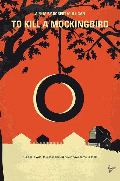 To Kill A Mockingbird Minimal Movie Poster Canvas Art