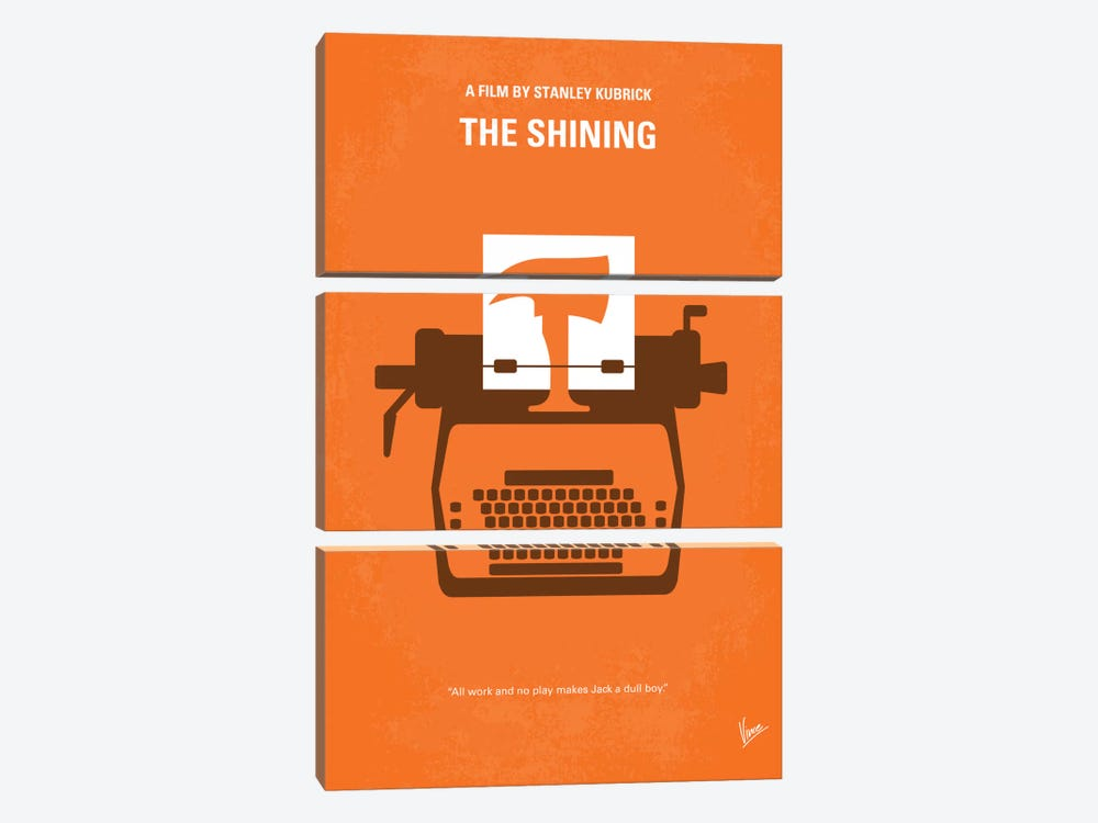 The Shining Minimal Movie Poster by Chungkong 3-piece Art Print
