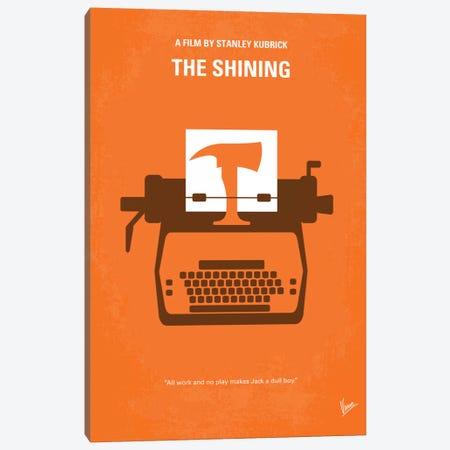 The Shining Minimal Movie Poster Canvas Print #CKG109} by Chungkong Canvas Artwork