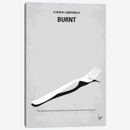 Burnt Minimal Movie Poster Canvas Print #CKG1114} by Chungkong Art Print