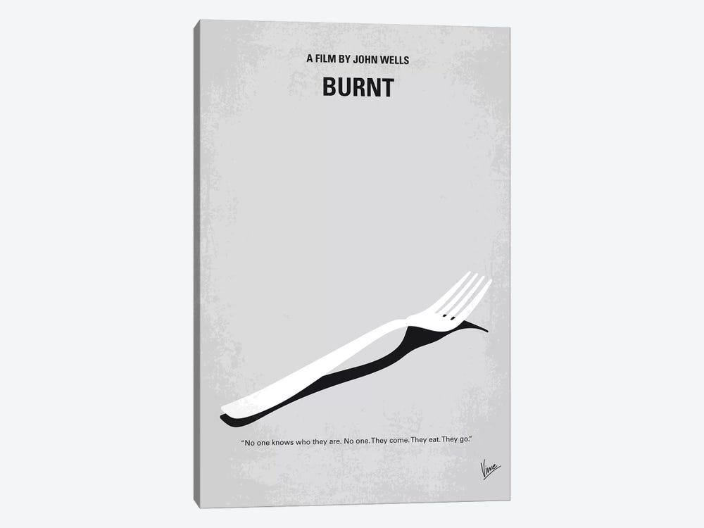 Burnt Minimal Movie Poster by Chungkong 1-piece Art Print