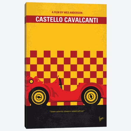Castello Cavalcanti Minimal Movie Poster Canvas Print #CKG1115} by Chungkong Canvas Print