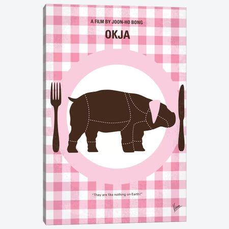 Okja Minimal Movie Poster Canvas Print #CKG1154} by Chungkong Canvas Print