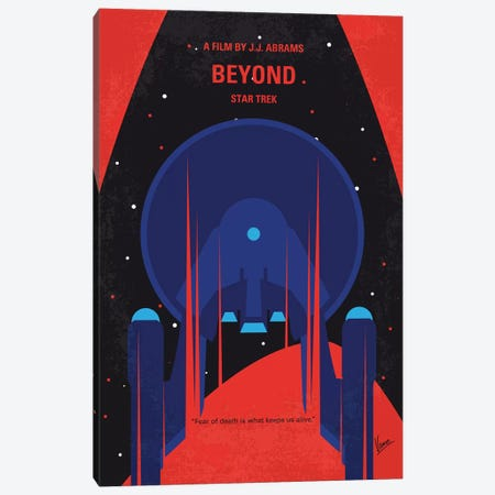St Beyond Minimal Movie Poster Canvas Print #CKG1165} by Chungkong Canvas Artwork