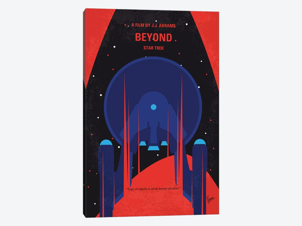 St Beyond Minimal Movie Poster by Chungkong 1-piece Canvas Art Print