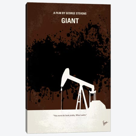 Giant Minimal Movie Poster Canvas Print #CKG117} by Chungkong Canvas Artwork