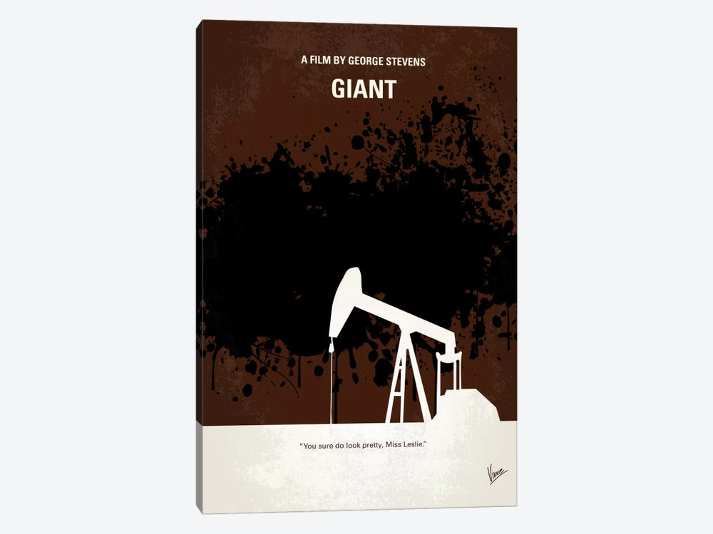 Giant Minimal Movie Poster by Chungkong 1-piece Canvas Wall Art
