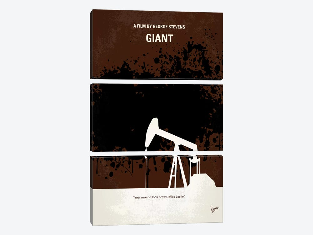 Giant Minimal Movie Poster by Chungkong 3-piece Canvas Art