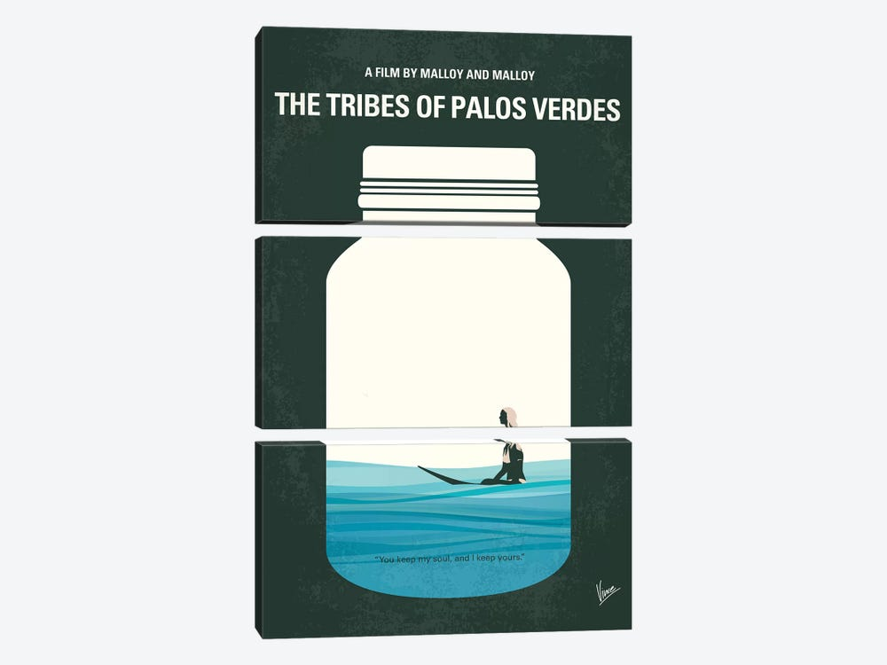 The Tribes Of Palos Verdes Minimal Movie Poster by Chungkong 3-piece Art Print