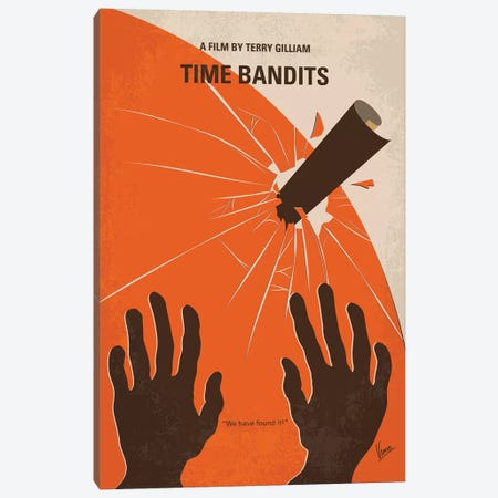 Time Bandits Minimal Movie Poster Canvas Print #CKG1198} by Chungkong Canvas Artwork
