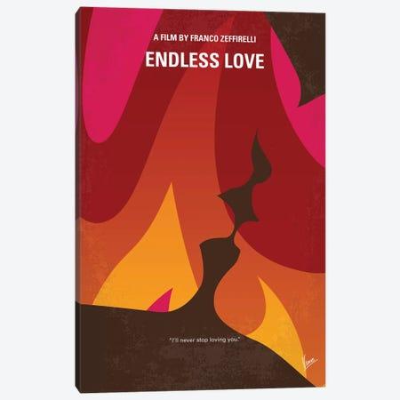 My Endless Love Minimal Movie Poster Canvas Print #CKG1211} by Chungkong Canvas Print