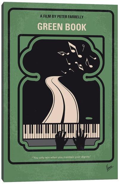 Green Book Minimal Movie Poster Canvas Art Print