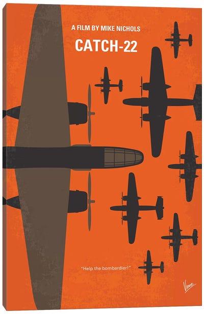 Catch 22 Minimal Movie Poster Canvas Art Print