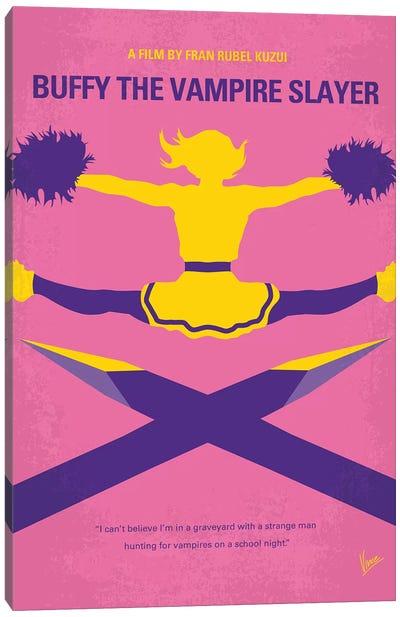 Buffy The Vampire Slayer Minimal Movie Poster Canvas Art Print