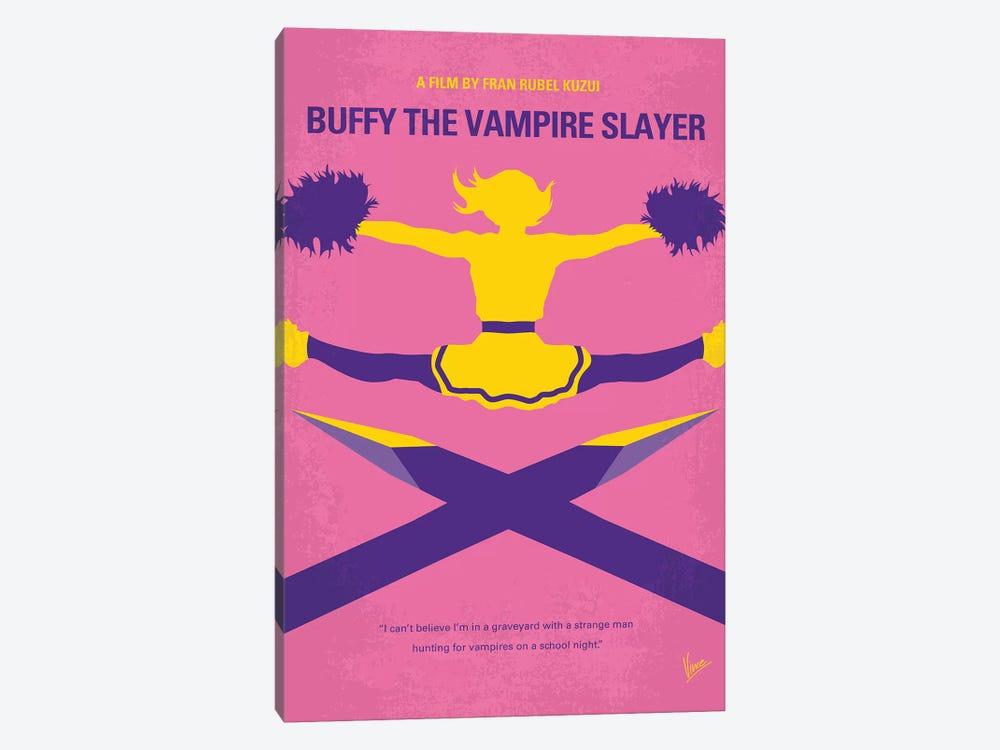 Buffy The Vampire Slayer Minimal Movie Poster by Chungkong 1-piece Canvas Art