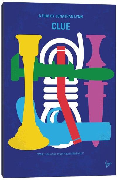 Clue Minimal Movie Poster Canvas Art Print