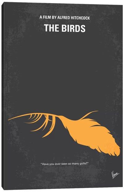 Birds Minimal Movie Poster Canvas Art Print