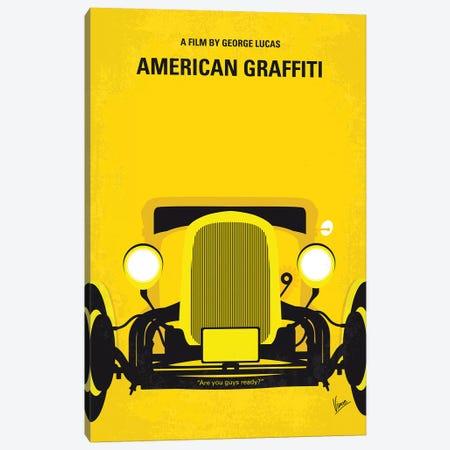 American Graffiti Minimal Movie Poster Canvas Print #CKG1269} by Chungkong Canvas Art