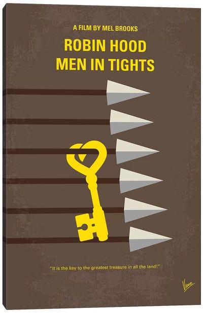 Robin Hood – Men In Tights Minimal Movie Poster Canvas Art Print