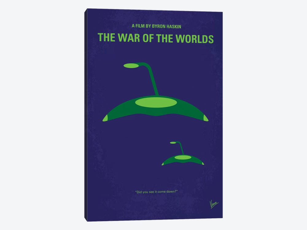 War Of The Worlds Minimal Movie Poster by Chungkong 1-piece Art Print