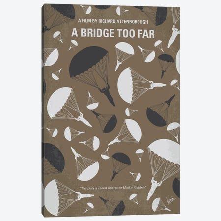 A Bridge Too Far Minimal Movie Poster Canvas Print #CKG1335} by Chungkong Canvas Art Print