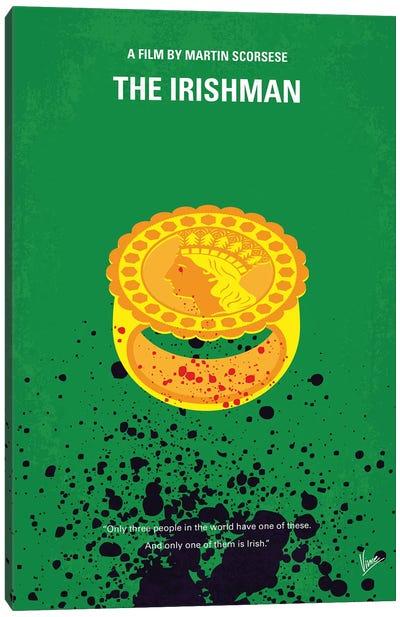 The Irishman Minimal Movie Poster Canvas Art Print