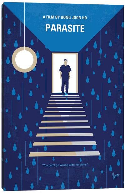Parasite Minimal Movie Poster Canvas Art Print