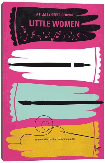 Little Women Minimal Movie Poster Canvas Art Print