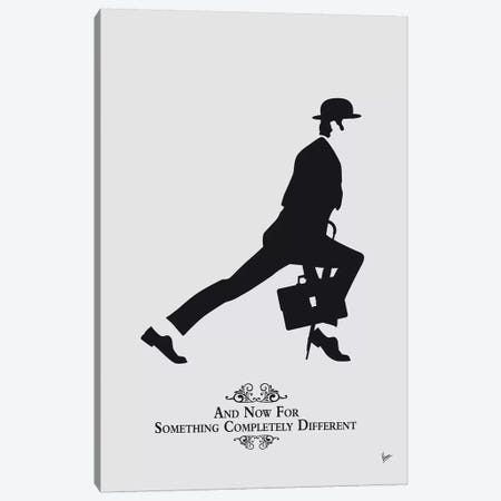 My Silly Walk Poster III Canvas Print #CKG1347} by Chungkong Canvas Artwork