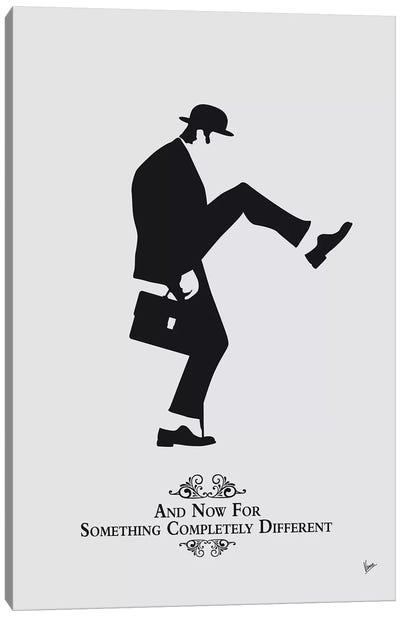 My Silly Walk Poster IV Canvas Art Print