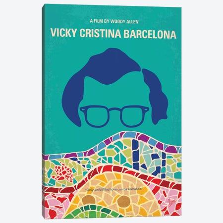 My Vicky Cristina Barcelona Minimal Movie Poster Canvas Print #CKG1352} by Chungkong Canvas Wall Art